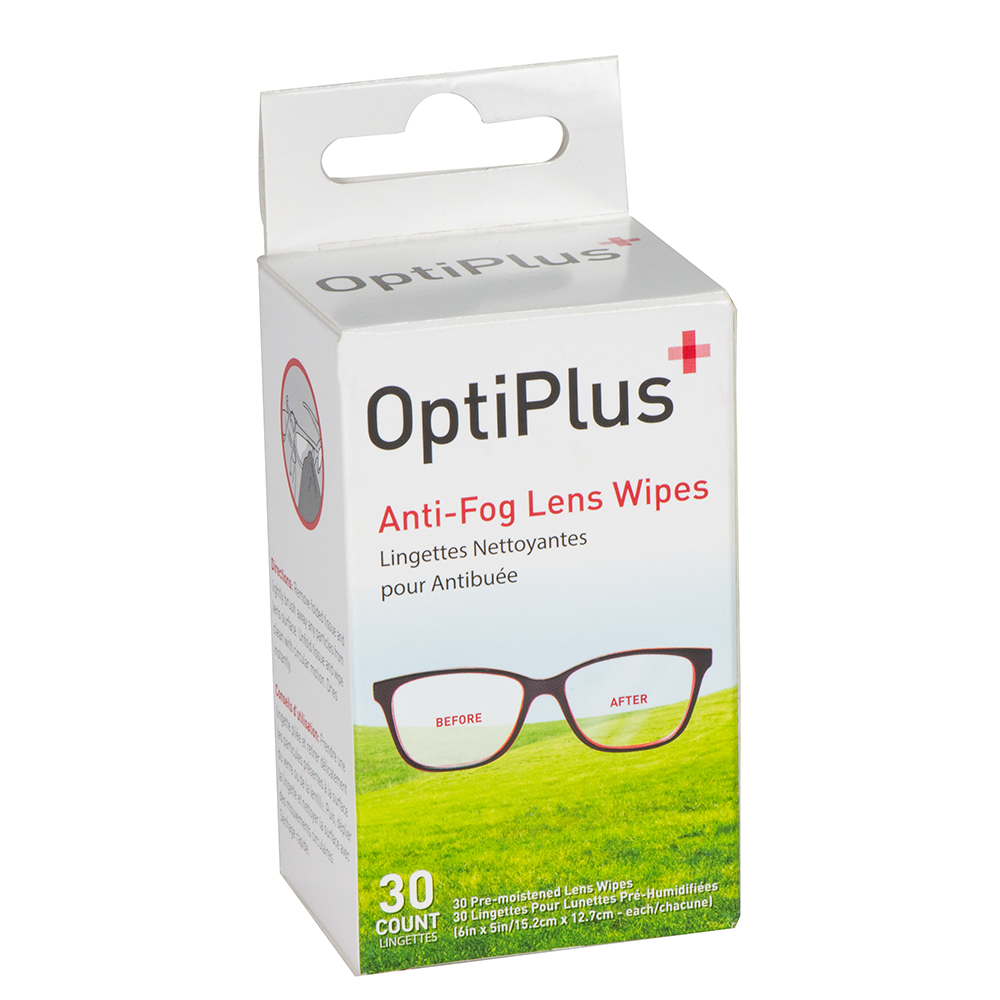 Fogging lenses? We can help
