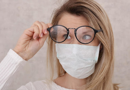 How to Keep Glasses From Fogging Up When Wearing a Mask